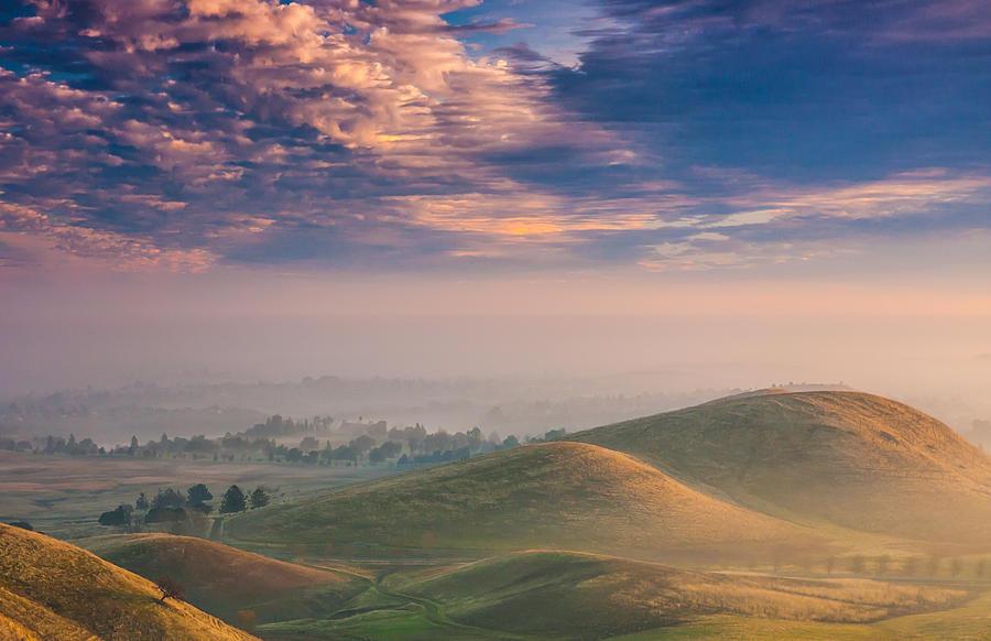 Landscape Photograph - Hazy Sunrise by Marc Crumpler