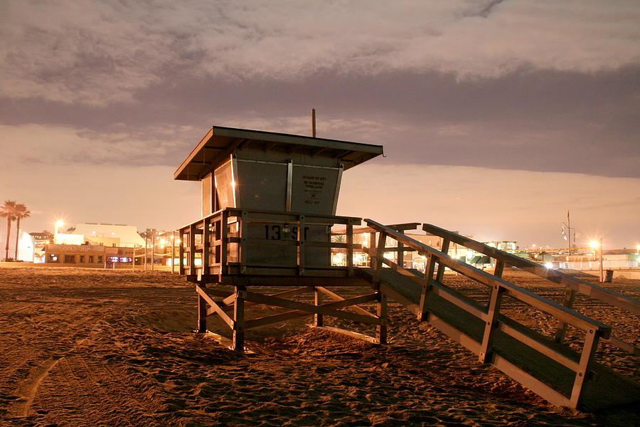 Hermosa Beach Photograph - Hb Tower by Adam Winfrey