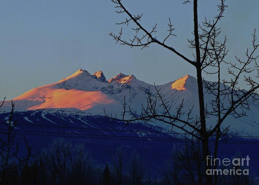 HBM winter sunset by Anne Havard