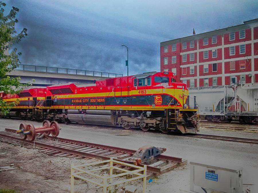 Hdr Photograph - Hdr Fun With Trains by Dustin Soph