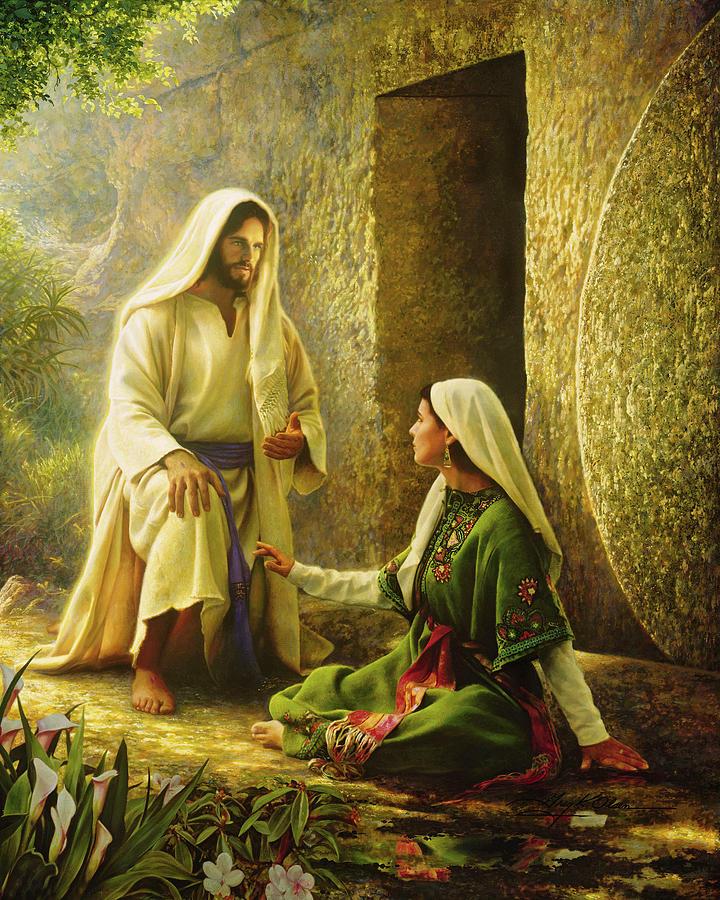 Jesus Painting - He is Risen by Greg Olsen