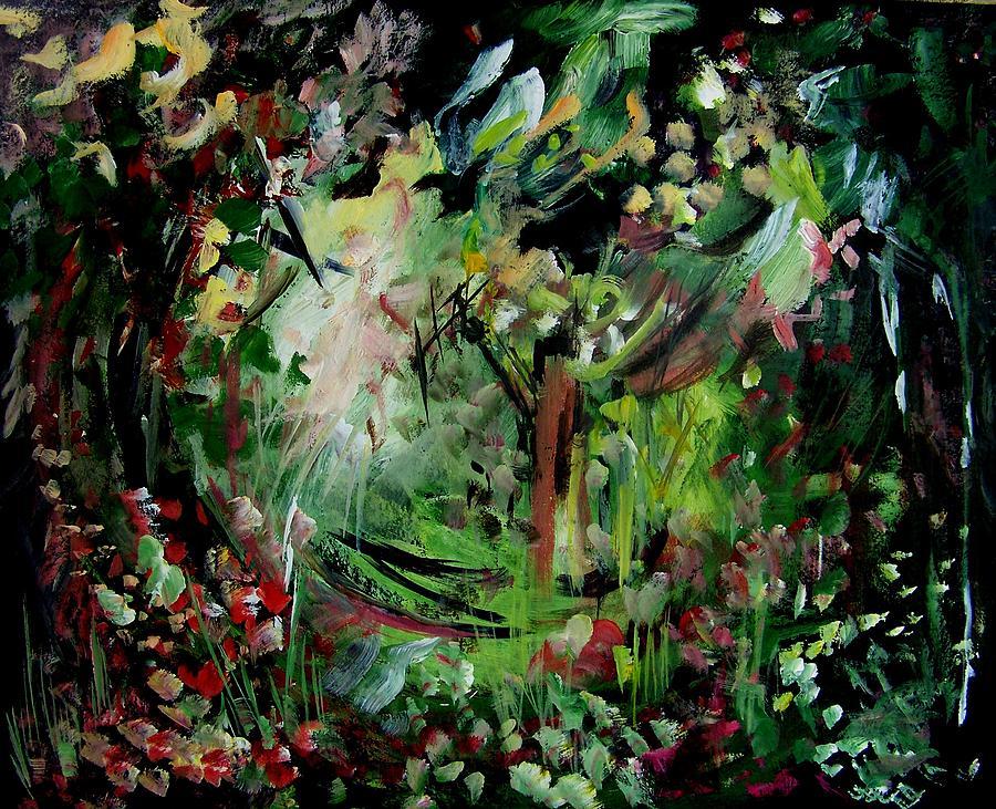 Landscape Painting - He Lights Our Path by Ellen Seymour