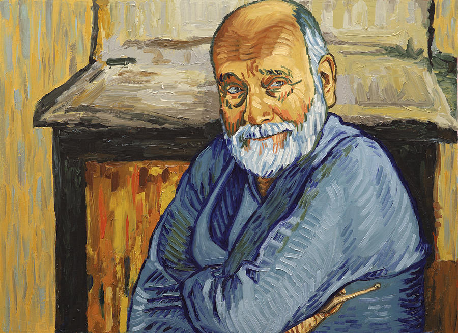 Vincent Painting - He said he had shot himself by Biserka Petrovic