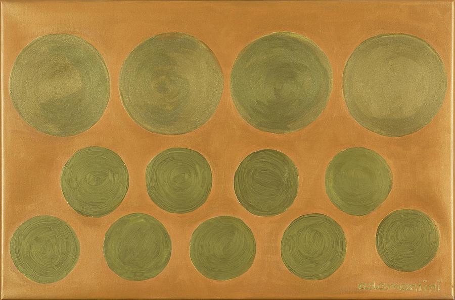Feng Shui Painting - He Tu Metal by Adamantini Feng shui