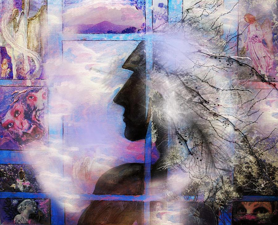 Fantasy Digital Art - He Waits II by Patricia Motley