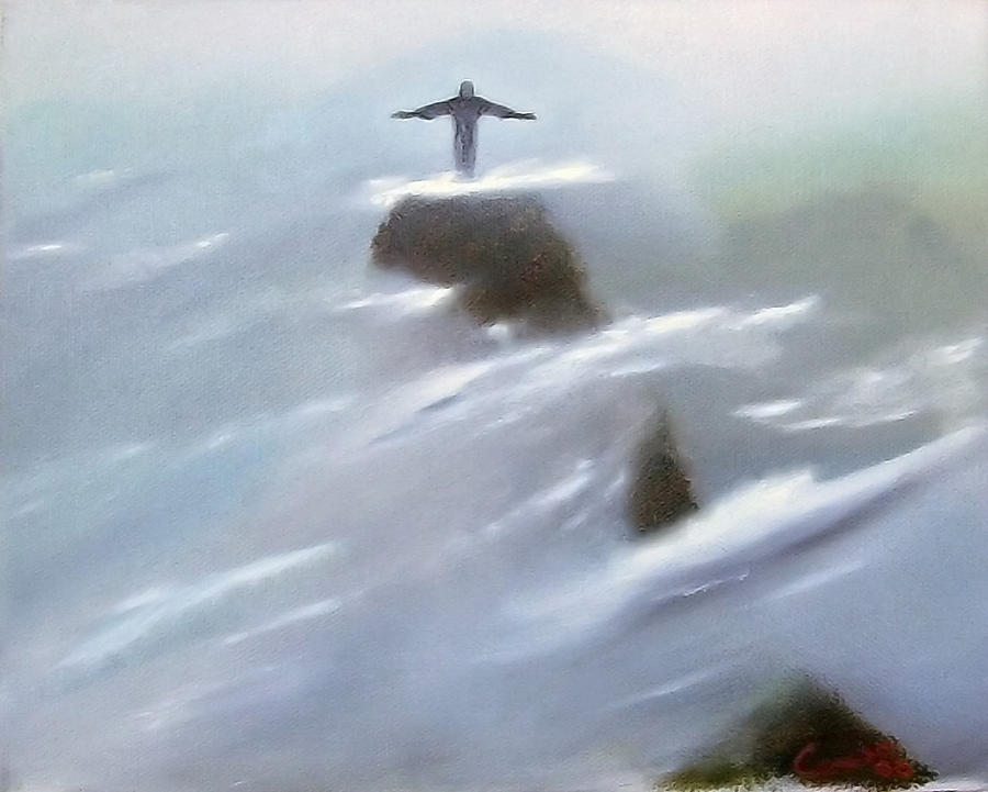 Lord Painting - He Watches Over Us by Darren Yarborough