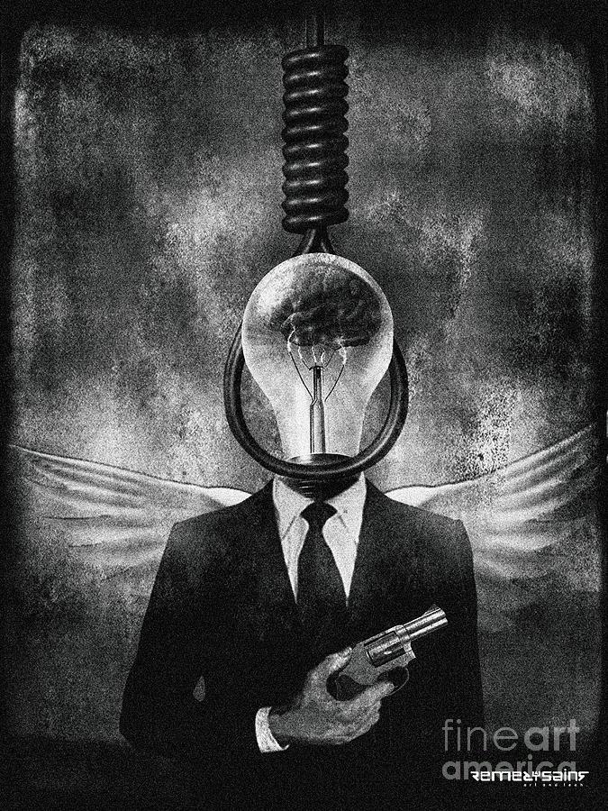 Head Like A Hole Digital Art by Remedysains