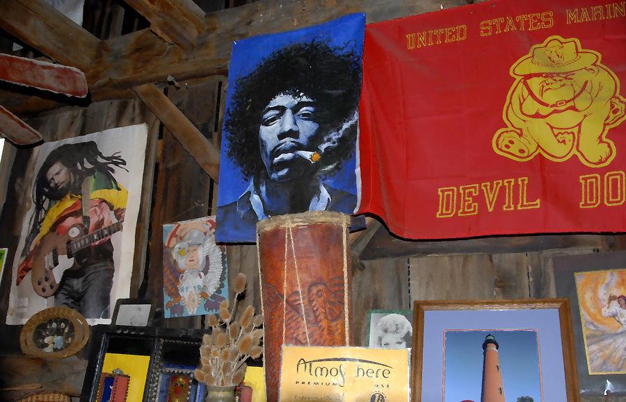 Head Shop Painting - Head Shop by David Lee Thompson