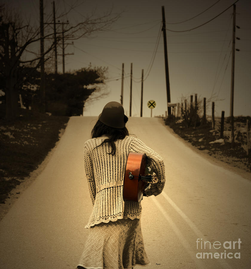 Women Photograph - Heading anywhere but here  by Steven Digman