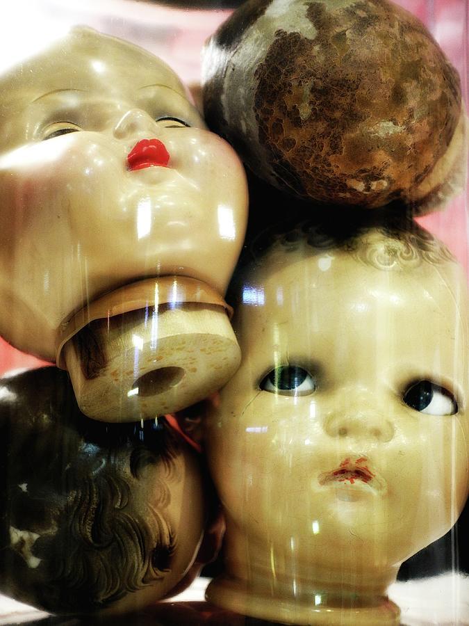 Heads in a Jar by Newel Hunter