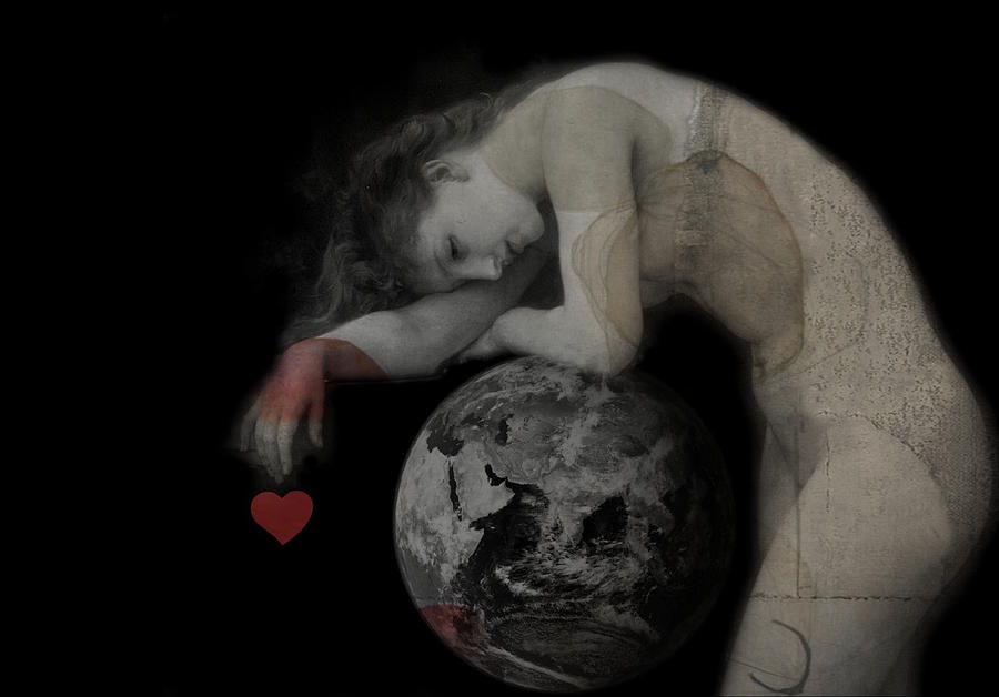 World Digital Art - Heal The World  by Paul Lovering