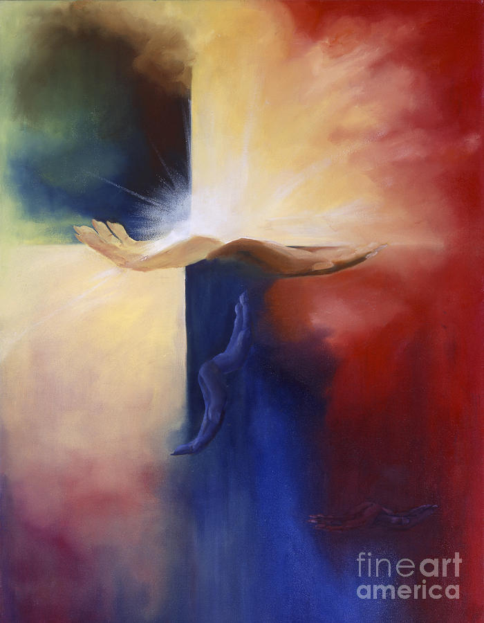 Unconditional Love Painting - The Gift Of Self by Maria Hunt