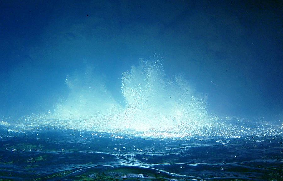 Water Photograph - Healing 2 by Andrew Zeutzius