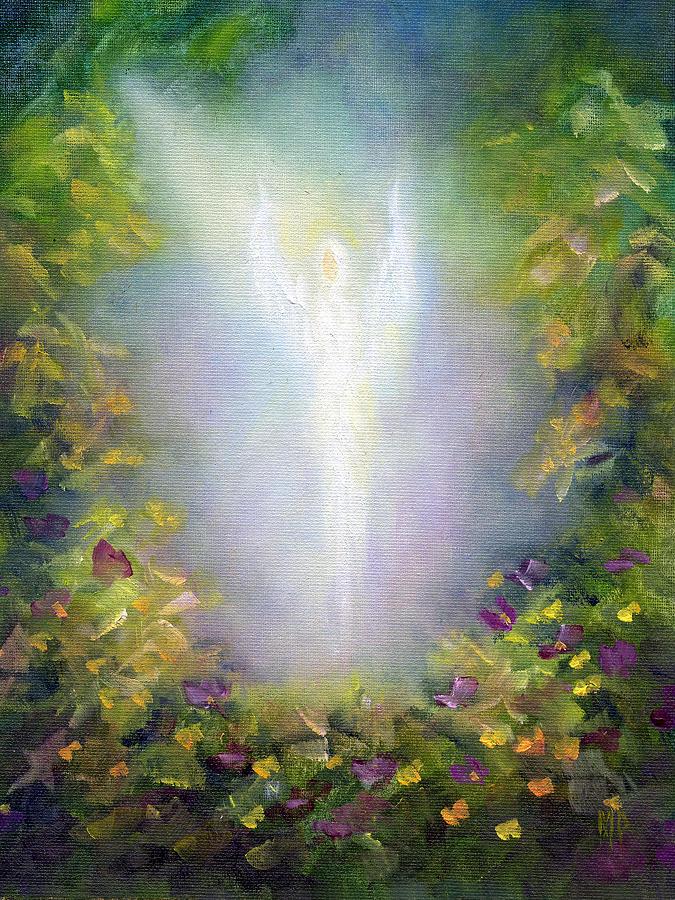 Angel Painting - Healing Angel by Marina Petro