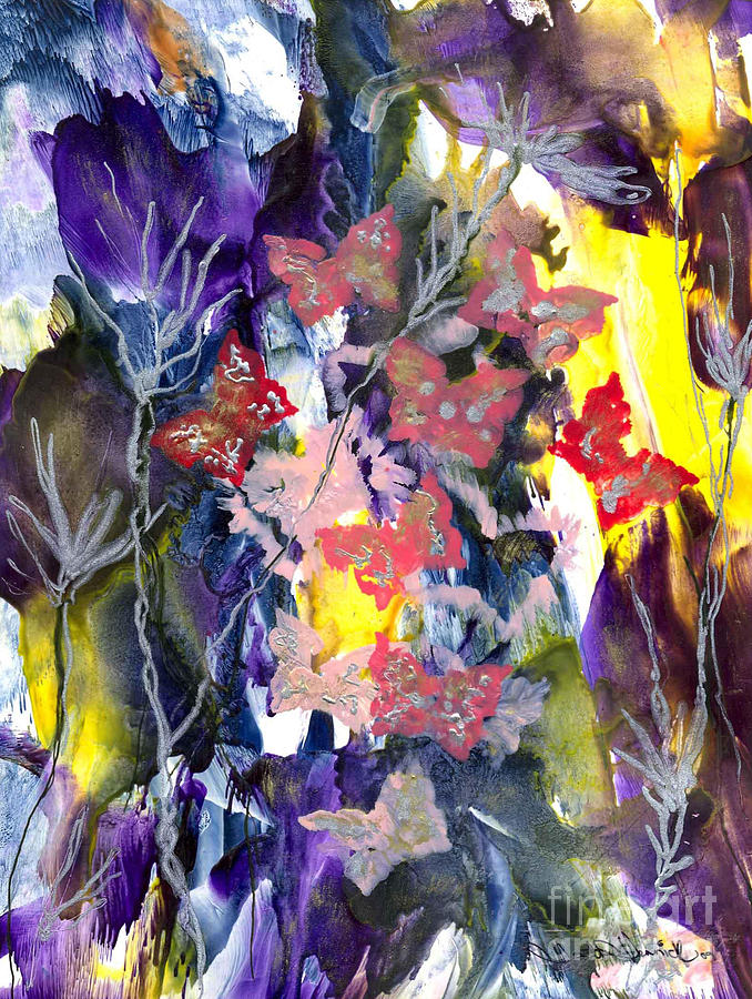 Healing Painting - Healing Breath For  Eve by Heather Hennick