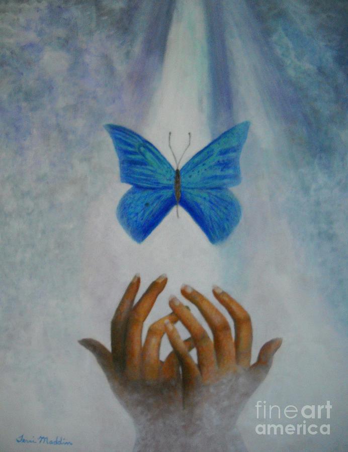 Healing Painting - Healing Hands by Terri Maddin-Miller