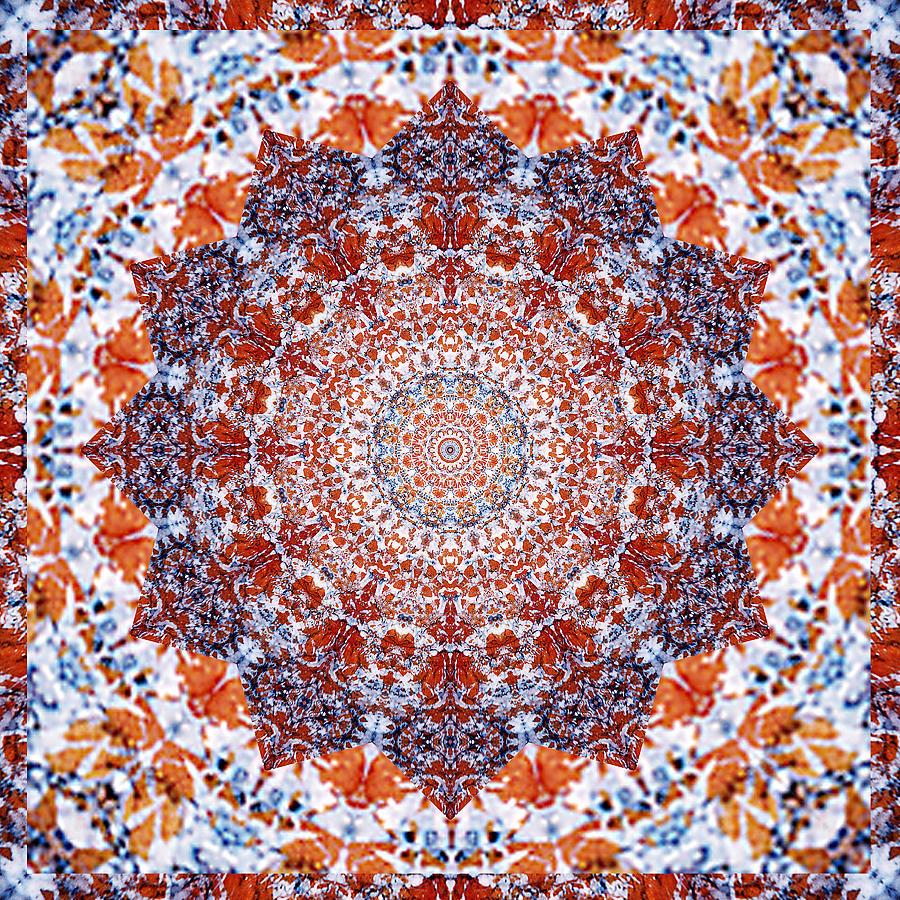 Chakras Photograph - Healing Mandala 2 by Bell And Todd