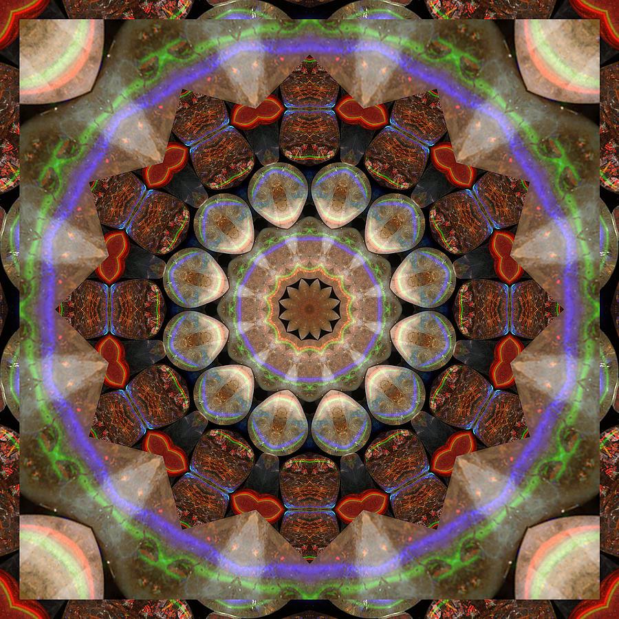 Abundance Photograph - Healing Mandala 30 by Bell And Todd