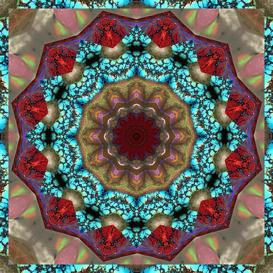 Abundance Photograph - Healing Mandala 35 by Bell And Todd