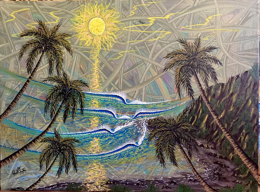 Healing Painting - Healing Sunset by Paul Carter