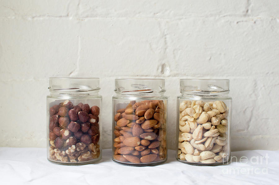 Almonds Photograph - Healthy eating by Natalie Board