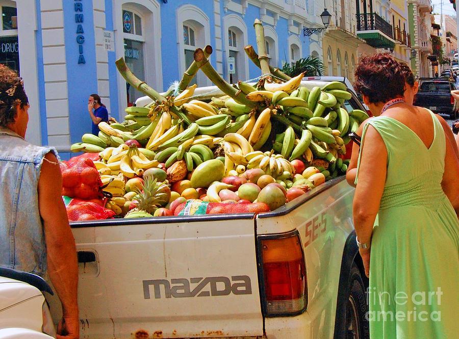 Fruit Photograph - Healthy Fast Food by Debbi Granruth