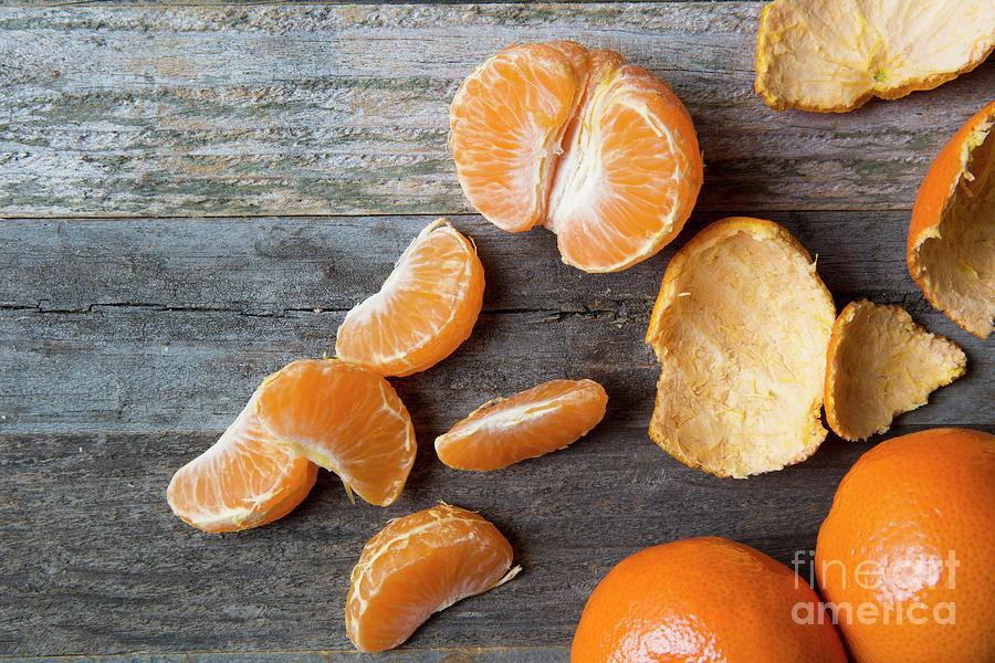 Healthy Tangerines Photograph