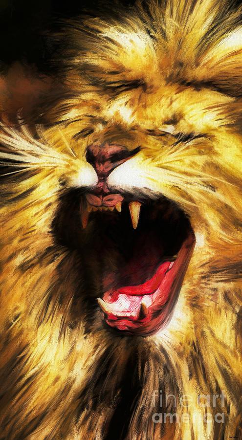 Hear Me Roar Digital Art