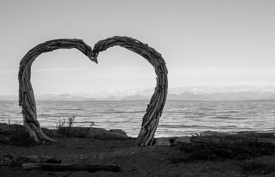 Landscape Photograph - Heart Arch by Trance Blackman