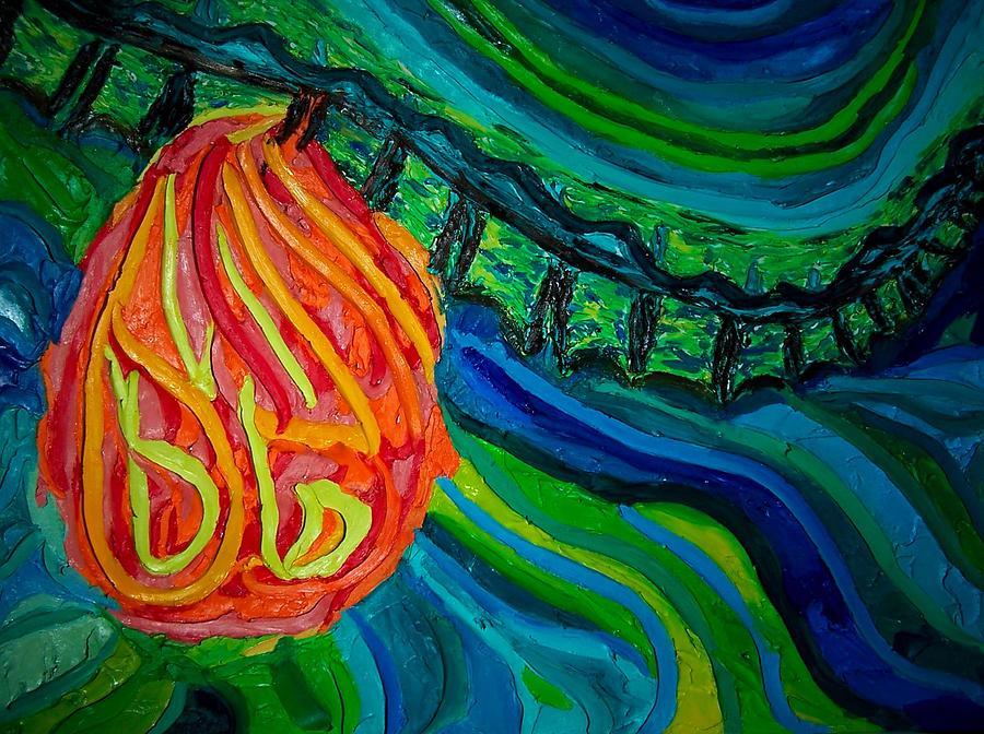 Human Body Painting - Heart Burn by Ira Stark
