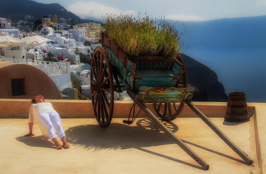 Yoga Photograph - Heart Cart by Stuart Smith