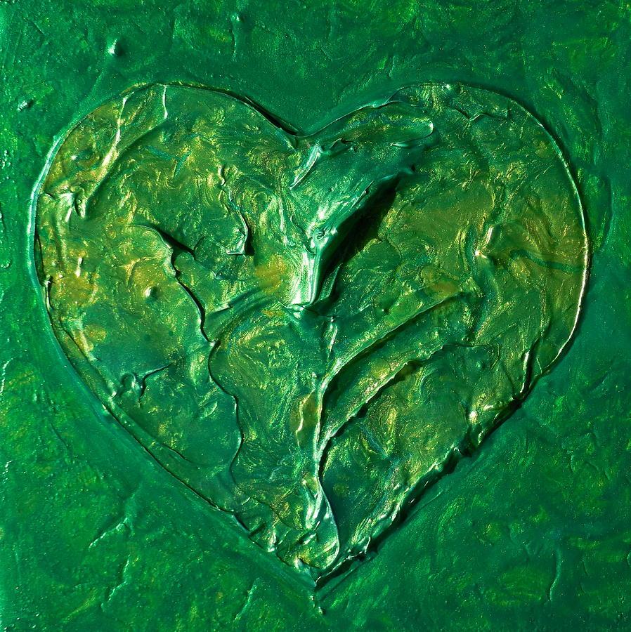 Heart Chakra Painting Green Chakra Art Painting By Chakra Art