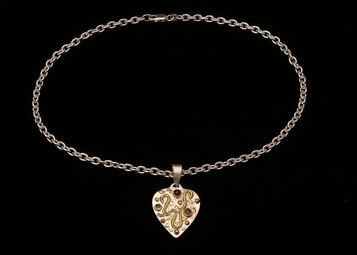 Heart Jewelry by Linda Bickel
