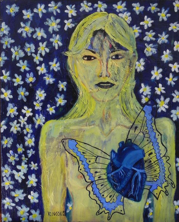 Mixed Media Mixed Media - Heart Metamorphosis by Sandra Rincon