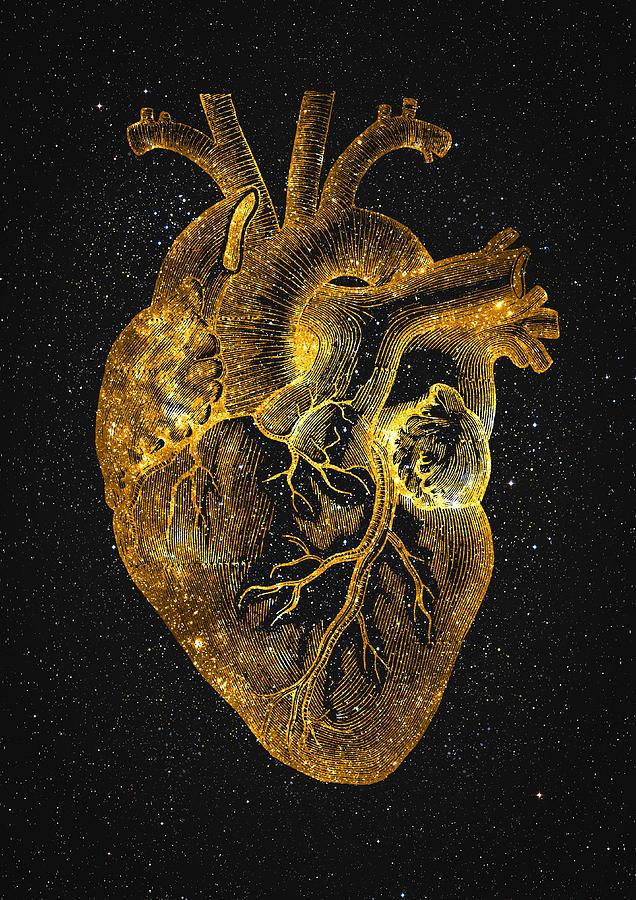 Heart Nebula Digital Art