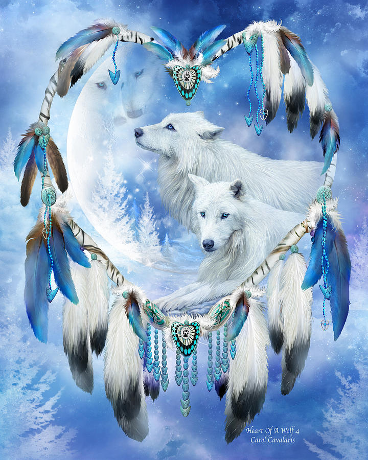 Heart Of A Wolf 4 by Carol Cavalaris
