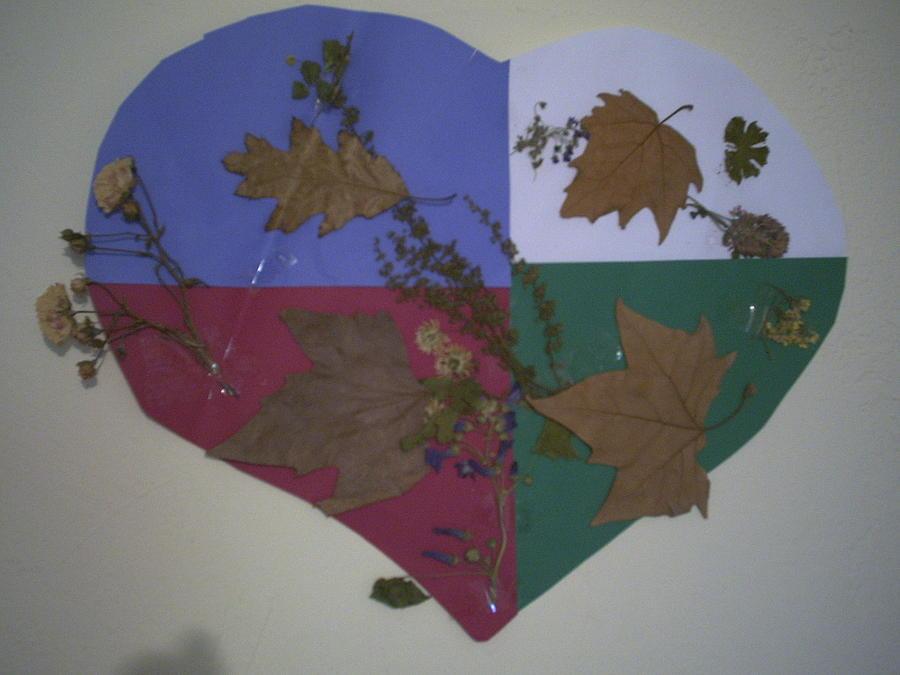Heart Of Autumn Painting by Raissa Ghezzani