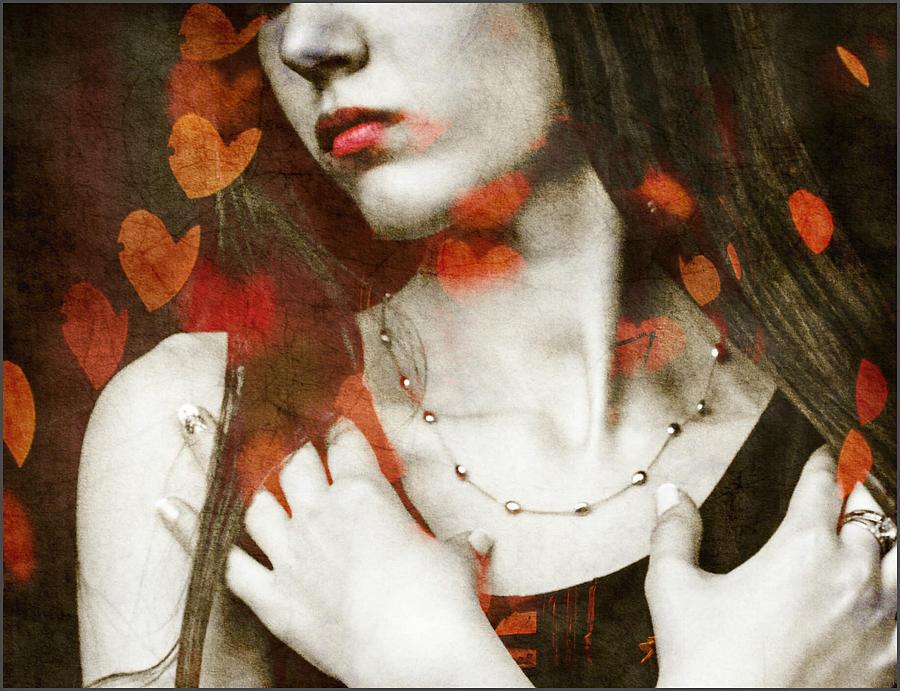 Lovers Digital Art - Heart Of Gold by Paul Lovering