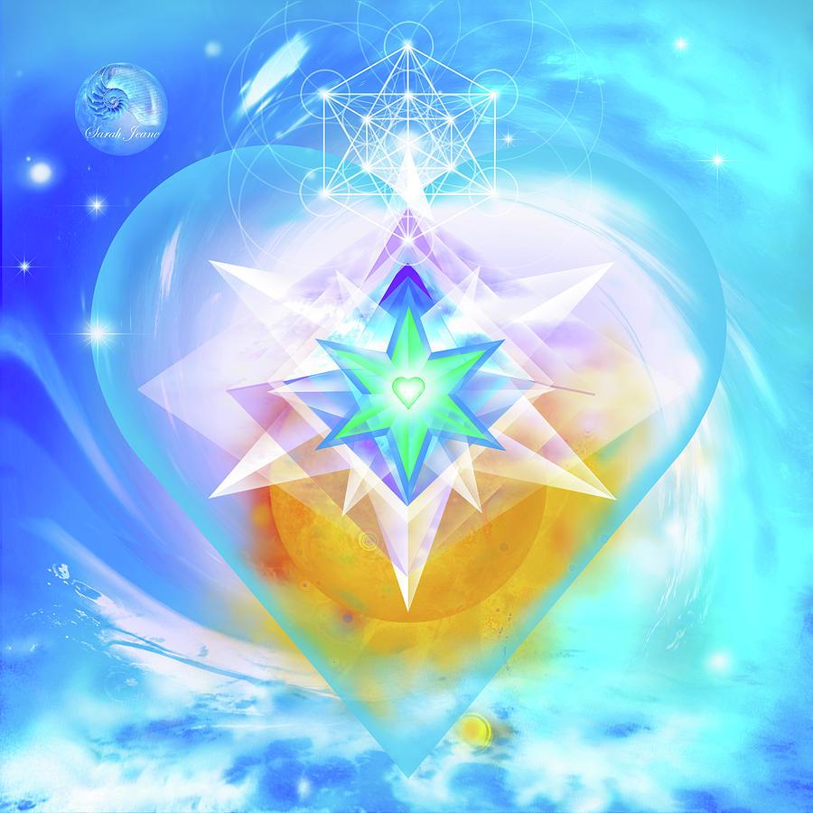 Balance Mixed Media - Heart Of Hearts by Sarah Jeane