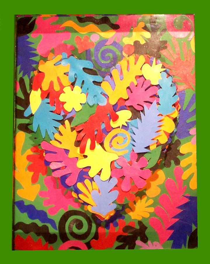 Icons Painting - Heart of Henri Matisse by Robert Quijada