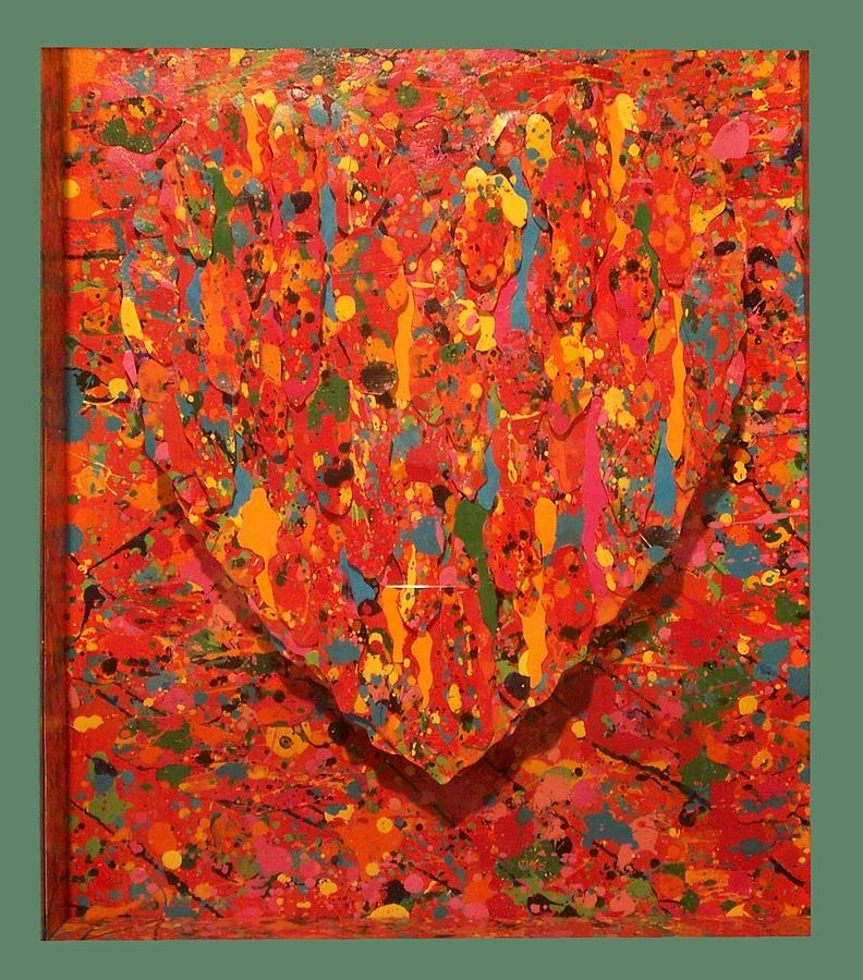 Icons Painting - Heart of Jackson Pollock by Robert Quijada