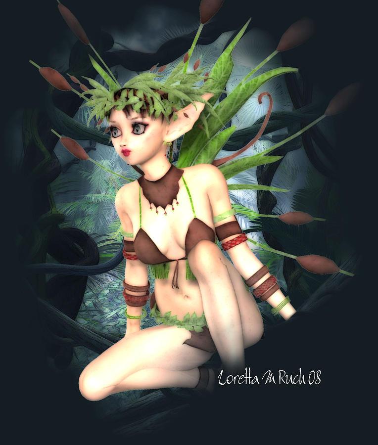 Heart Of The Jungle Digital Art by Loretta Ruch