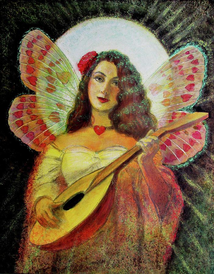 Heart Wings Angel by Sue Halstenberg