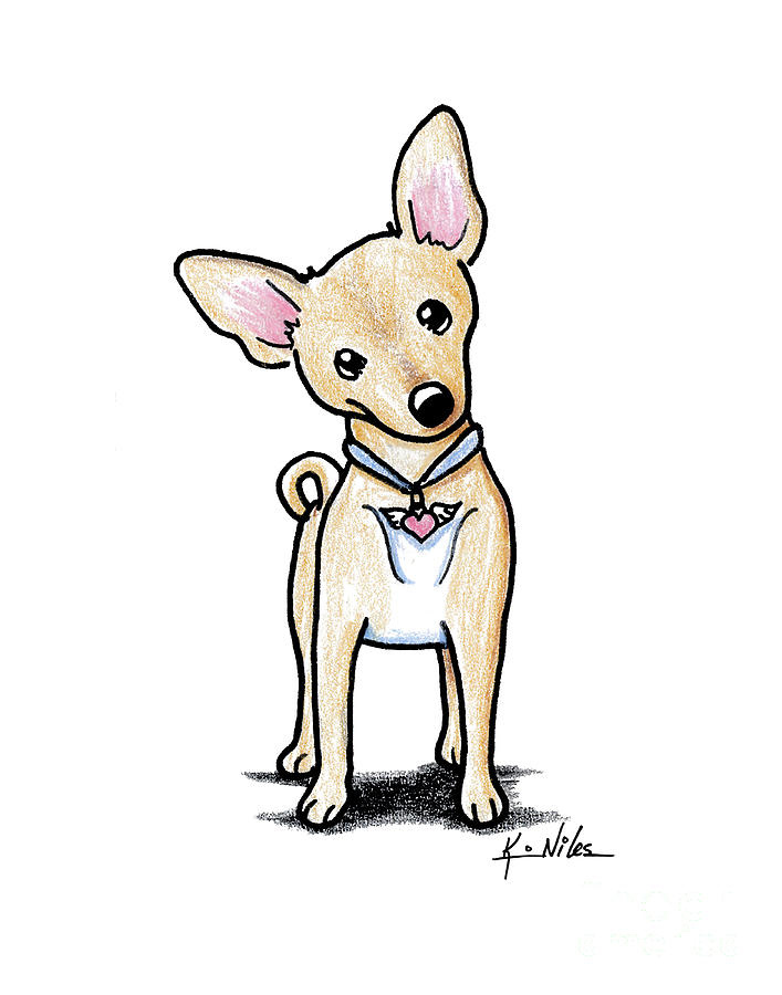 It's just an image of Clever Dog With Wings Drawing