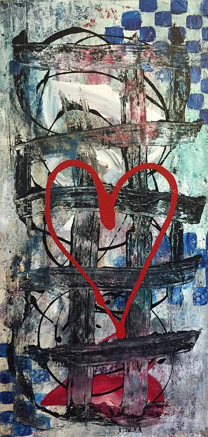 Heart Painting - Heartbeat by Christy Chen