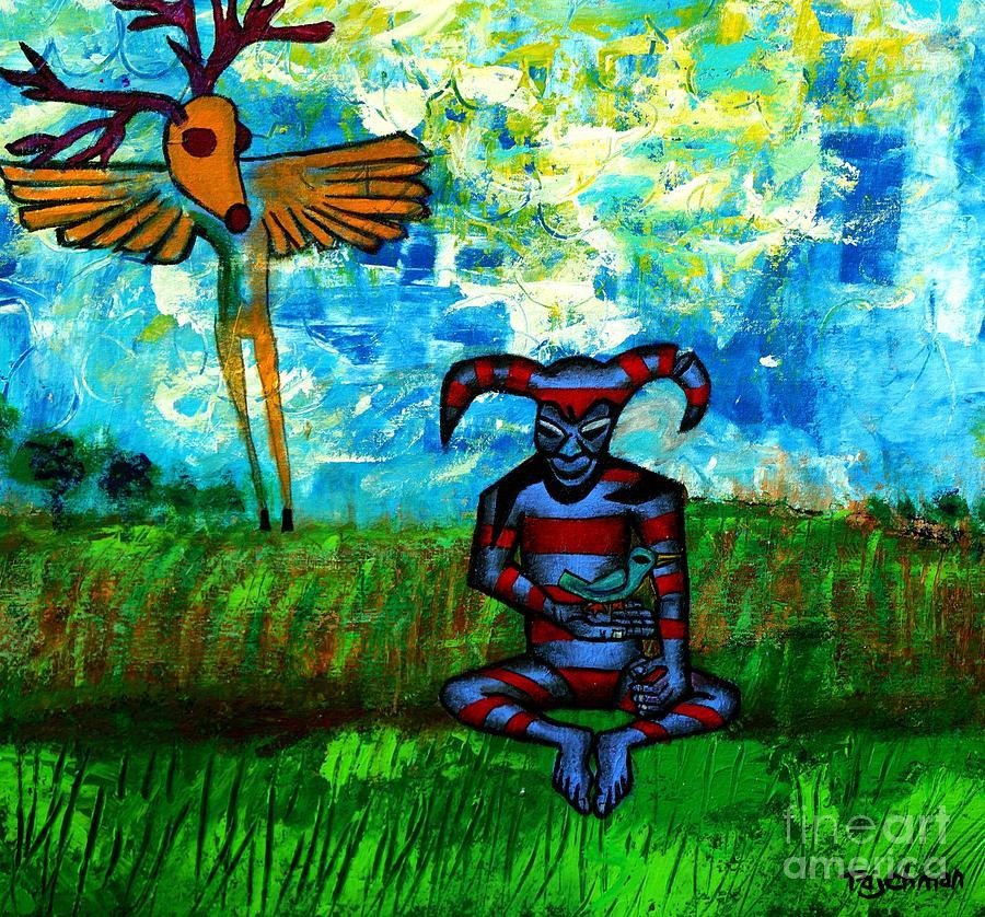 Prairie Painting - Heartland Ghosts by Ed Tajchman