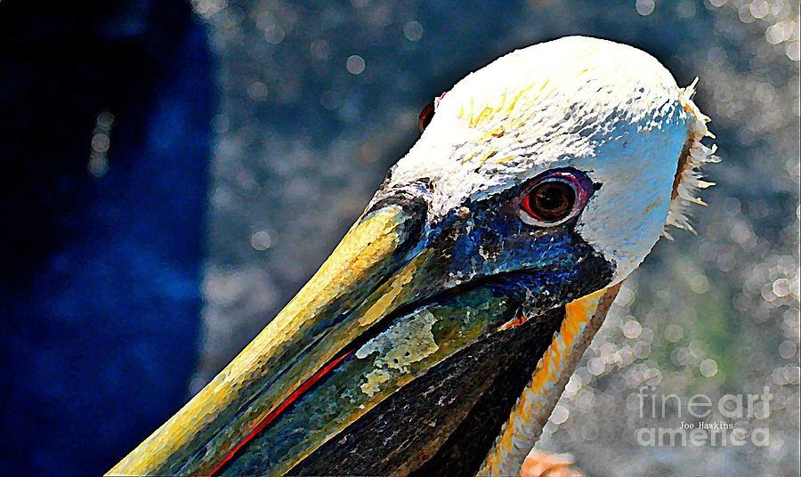 Bird Painting - Heat Of A Day by Joe Hawkins