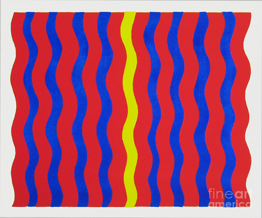 Print Painting - Heat Waves In The Night by Terry Anderson