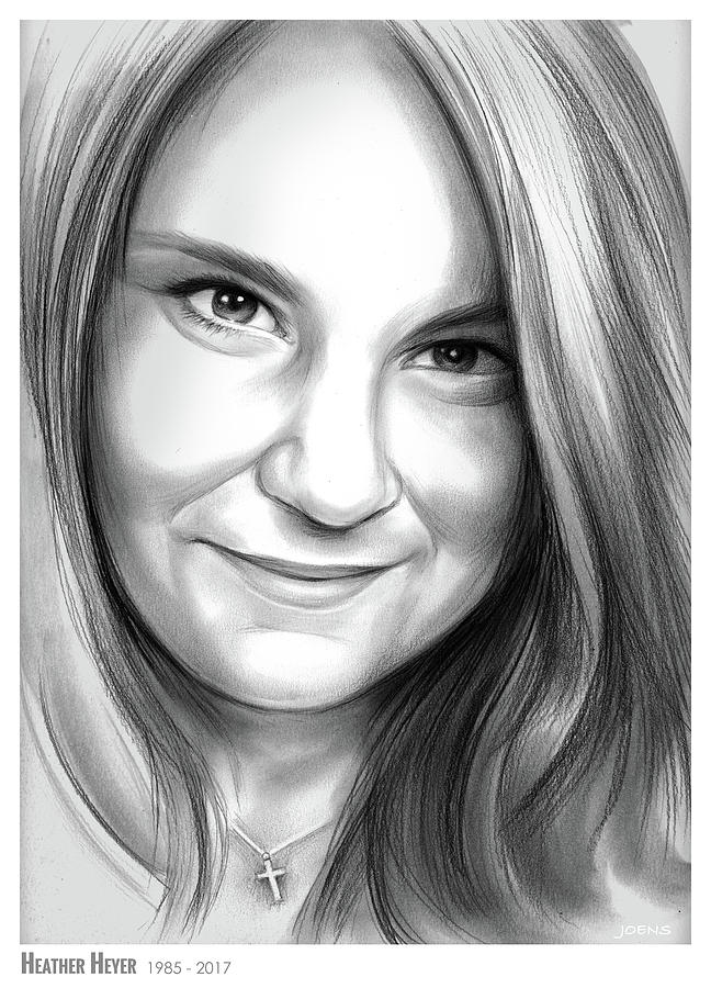 Heather Heyer Drawing