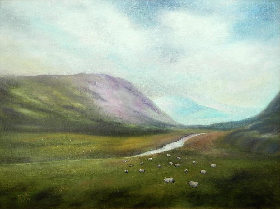 Heather in the Highlands by Douglas Ann Slusher